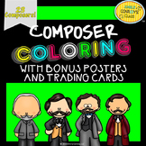 Great Composers (Composer coloring sheets, posters, and trading cards)