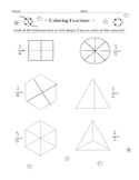Coloring in Fractions First