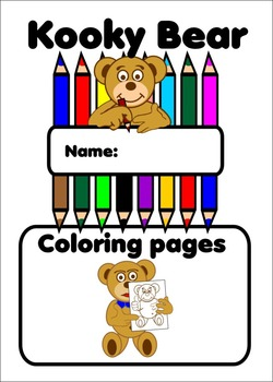 Coloring pages Kooky Bear