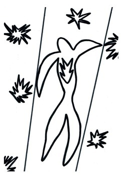 Coloring pages inspired by the work of Henri MATISSE