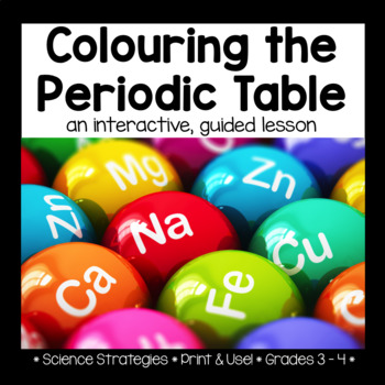 Coloring the Periodic Table: Interactive, Guided Lesson