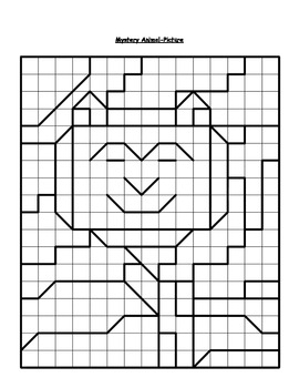 Coloring this fun algebra visual will reveal a mystery animal picture!