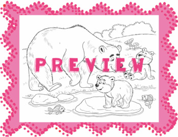 Coloring with Present Tense -ER Verbs Activity