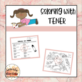 Coloring with Tener Activity