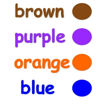 Colors (10 colors in 4 styles)
