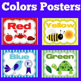 Colors Posters for Classroom | Color Posters Kindergarten