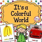 Color Identification and Reading Color Sight Words PreK Kindergarten and 1st