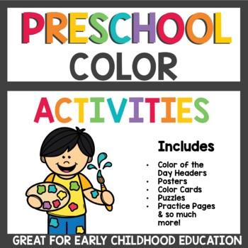Preschool Color Activities / Pre K Learn about Colors