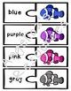 Colors: Rainbow Clownfish Color Puzzles