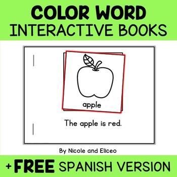 Interactive Mini Book - Colors