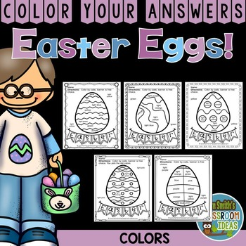 Color By Code Easter Eggs Colors