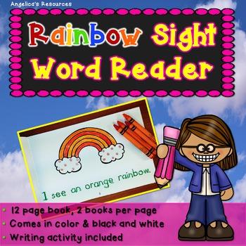 Colors: Rainbow Sight Word Reader