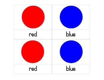 Colors 3-Part Cards