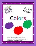 Colors 3 Part cards