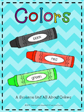 Colors - A Science Unit All About Colors