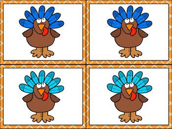 Thanksgiving Activities- Colors Activities