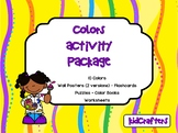 Colors Activity Package
