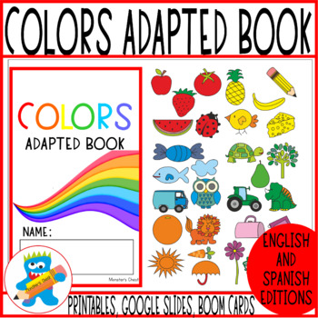Colors Adapted Book. Fun and engaging.