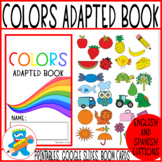 Colors Adapted Book. Fun and engaging. Digital Version included.