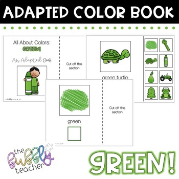 Green: Colors Adapted Book