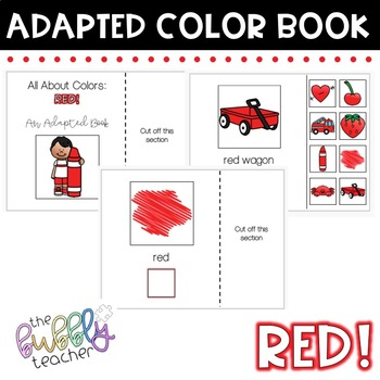 Red: Colors Adapted Book