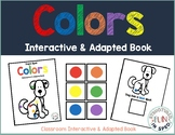 Colors Adapted Book for Preschool, Pre-K and Special Needs