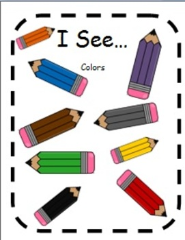 Colors Adapted Books for Students with Autism