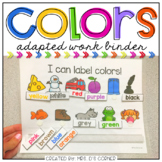Colors Adapted Work Binder ( 9 different sets of workpages )