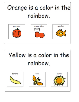 Colors: All About The Colors in a Rainbow (Adapted, Autism, Speech)