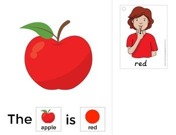 Colors - An Interactive Book for Early Intervention