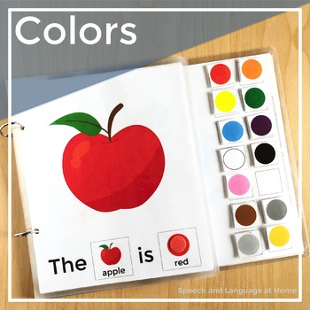 Early Intervention Interactive Book: Colors