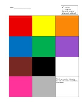 Colors Assessment