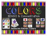 Colors: BINGO & Concentration