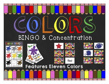 Colors: BINGO & Concentration