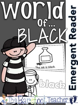 Colors {BLACK} Emergent Reader & Class Poster