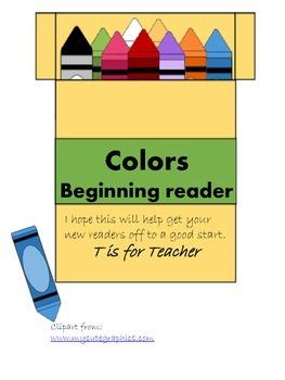 Colors Beginning Reader