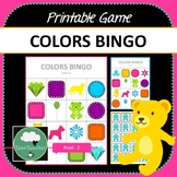 Colors Bingo Game