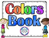 Colors Book No Prep