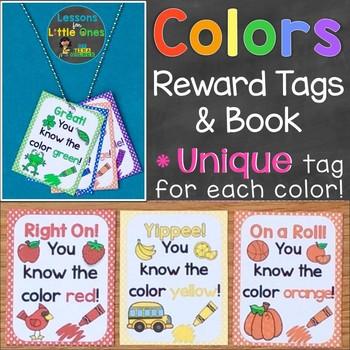 Colors Brag Tags & Book (Unique Brag Tags for each Color)