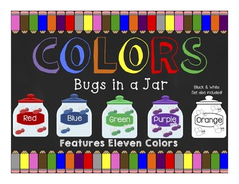 Colors: Bugs in a Jar