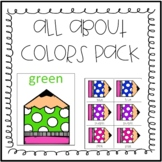 Colors Pre-K and Kindergarten Pack