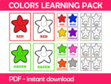 Colors Bundle Instant Download PDF; Preschool, Kindergarte