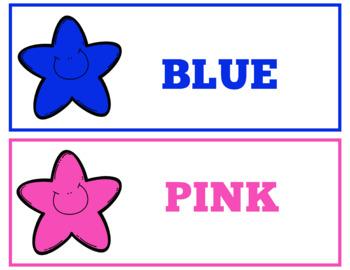 Colors Bundle Instant Download PDF; Preschool, Kindergarten, School