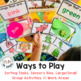 Preschool Centers Color Task Kits for Early Childhood, Pre-k, and Special Needs