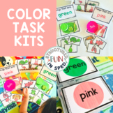 Preschool Centers Color Task Kits for Early Childhood, Pre