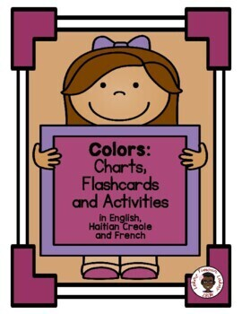 Colors Chart: English, Haitian Creole and French (Haiti)