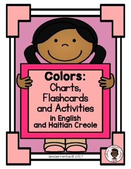 Colors Chart: English and Haitian Creole (Haiti)