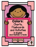 Colors Chart in English and Haitian Creole