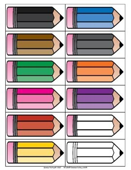 Colors Chart: English and Spanish