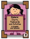 Colors Chart in English and Spanish
